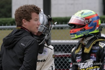 Patrick Long and Spencer Pigot