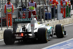 Nico Rosberg, Mercedes AMG F1 rear wing and exhaust