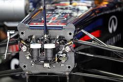 Sebastian Vettel, Red Bull Racing cockpit detail