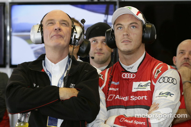 Dr. Wolfgang Ullrich, head of Audi Sport, Andre Lotterer