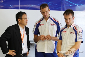 Alexander Wurz and Nicolas Lapierre