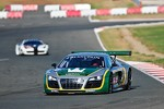 #98 JB Motorsport Audi R8 LMS: Jan Brunstedt, Mikael Bender, Daniel Roos