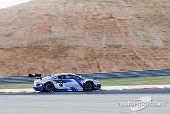 #40 Sainteloc Racing Audi R8 LMS ultra: Gregory Guilvert, Jonathan Hirschi, Dino Lunardi