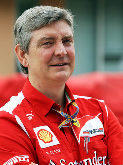 Steve Clark, Ferrari Chief Engineer