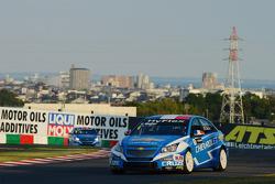 Yvan Muller, Chevrolet Cruze 1.6T, Chevrolet e Robert Huff, Chevrolet Cruze 1.6T, Chevrolet