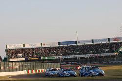 Yvan Muller, Chevrolet Cruze 1.6T, Chevrolet, Alain Menu, Chevrolet Cruze 1.6T, Chevrolet and Robert Huff, Chevrolet Cruze 1.6T, Chevrolet