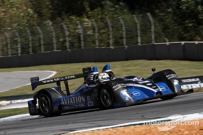 #52 PR1 Mathiasen Motorsports Oreca FLM09: Ken Dobson, Rudy Junco, Elton Julian
