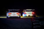 #56 BMW Team RLL E92 BMW M3: Dirk Muller, Uwe Alzen, Jonathan Summerton,#67 IMSA Performance Matmut Porsche 911 GT3 RSR: Anthony Pons, Raymond Narac, Nicolas Armindo