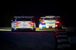 #56 BMW Team RLL E92 BMW M3: Dirk Muller, Uwe Alzen, Jonathan Summerton,#67 IMSA Performance Matmut Porsche 911 GT3 RSR: Anthony Pons, Raymond Narac, Nicolas Armindo
