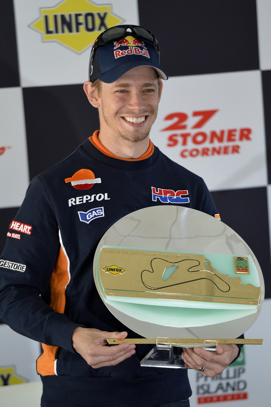 A corner named after Casey Stoner, Repsol Honda Team