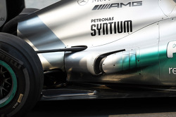 Mercedes AMG F1 exhaust detail