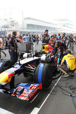 Red Bull Racing of Sebastian Vettel, Red Bull Racing on the grid