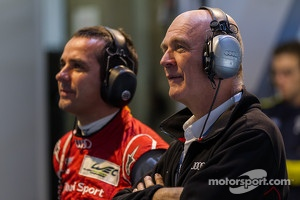 Dr. Wolfgang Ullrich with Benoit Trluyer