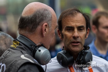 Emanuele Pirro talking with Dr. Wolfgang Ullrich