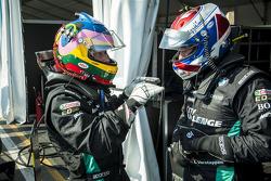 Jacques Villeneuve and Jos Verstappen