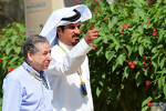 Jean Todt, FIA President with Mohammed Bin Sulayem 
