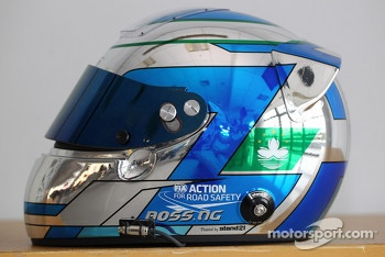 Ng Kin Veng, Chevrolet Cruze, CHINA DRAGON RACING's helmet