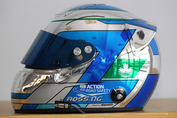 Ng Kin Veng, Chevrolet Cruze, CHINA DRAGON RACING's helmet