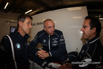 (L-R) Roberto Ravaglia,Team Roal Motorsport and Tom Coronel, BMW 320 TC, ROAL Motorsport