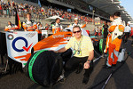 Sahara Force India F1 Team Guest on the grid