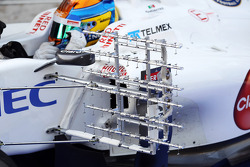 Esteban Gutierrez, Sauber Third Driver running sensor equipment