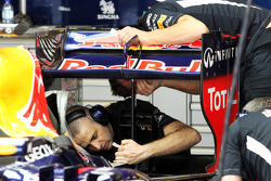 New rear wing assembly for the Red Bull Racing