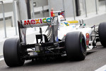 Esteban Gutierrez, Sauber Third Driver rear wing and rear diffuser detail
