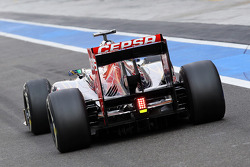 Luiz Razia, Scuderia Toro Rosso Test Driver rear wing detail