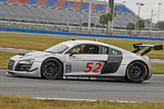 #52 Audi of America R8: Frank Biela