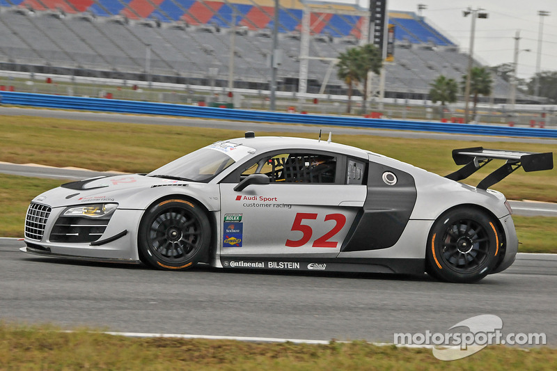 #52 Audi of America R8: Frank Biela