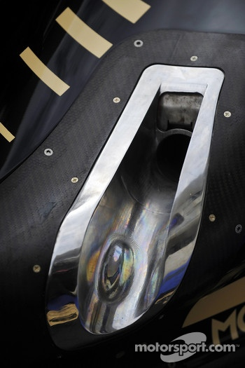 Lotus F1 exhaust detail