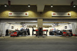 McLaren Mercedes team area