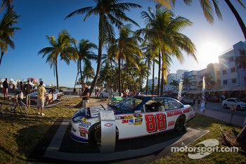 NASCAR Championship Drive in South Beach: car of Dale Earnhardt Jr., Hendrick Motorsports Chevrolet