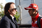 Emerson Fittipaldi, with Felipe Massa, Ferrari