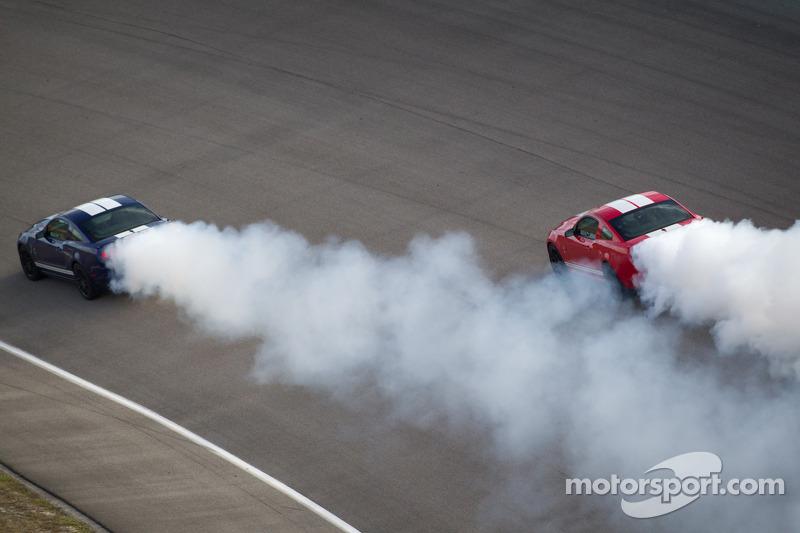 Smoking Mustangs