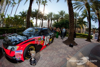NASCAR Nationwide Series champion car Joe Gibbs Racing Toyota