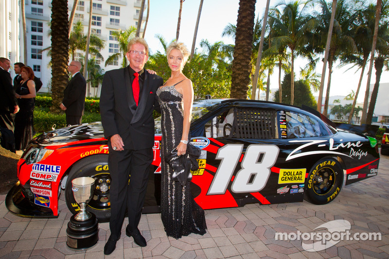 Z-Line Designs President and CEO Jim Sexton with his wife