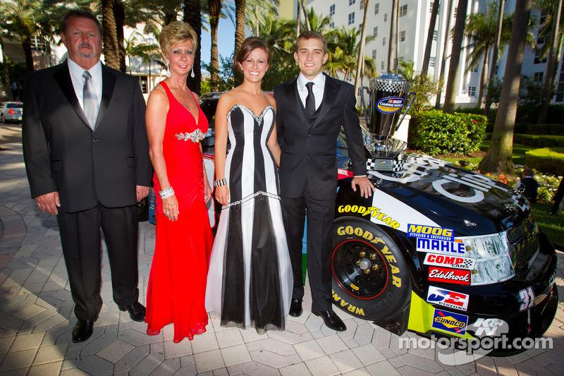 NASCAR Camping World Truck Series champion driver James Buescher, Turner Motorsports Chevrolet