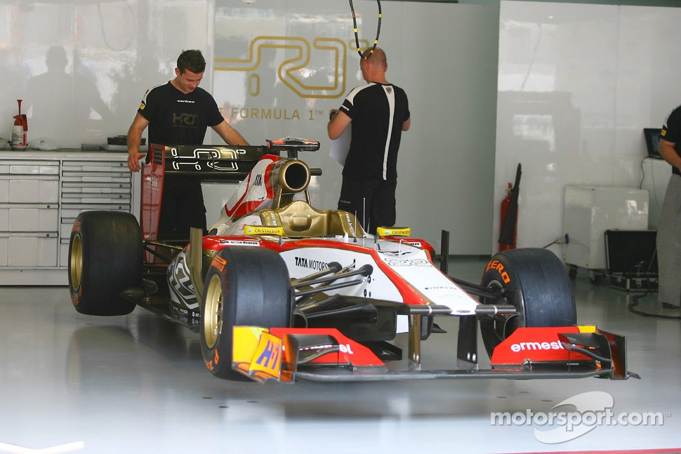 Hispania Racing F1 Team, F112 of Pedro De La Rosa, HRT Formula 1 Team