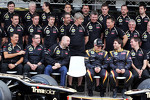 Lotus F1 Team team photograph