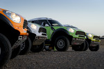 The four X-Raid MINI Countryman