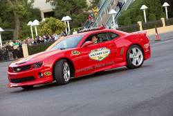 Pace car on the Victory Lap
