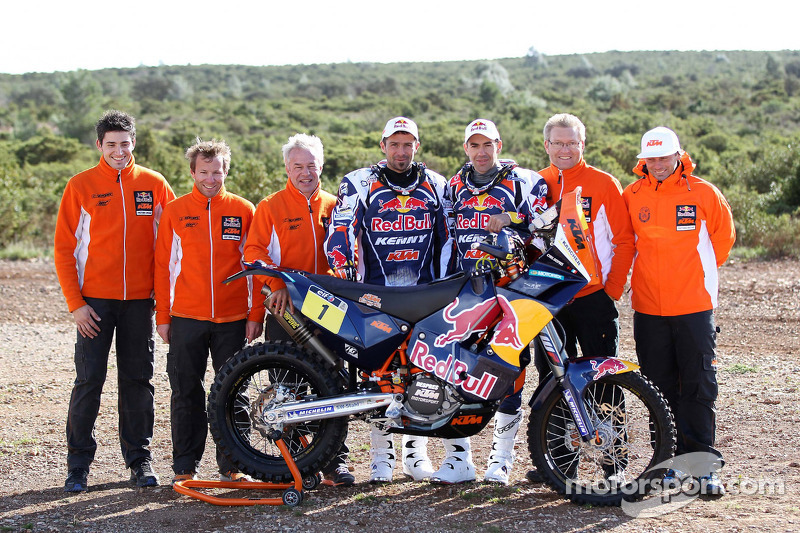 Red Bull KTM team