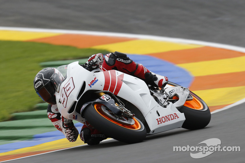 2012: Testing the Honda RC213V
