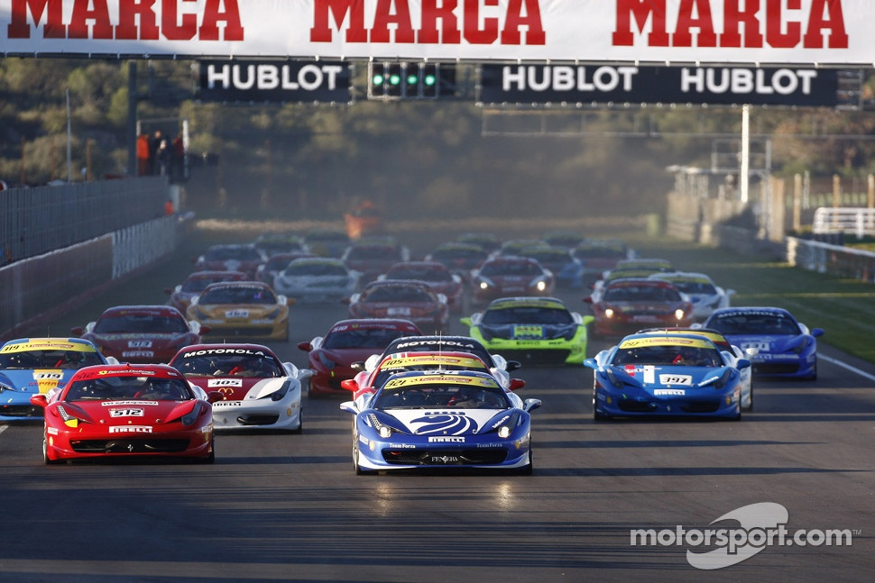 Finali Coppa Shell start