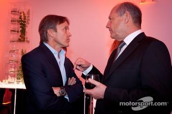 Adrian Fernandez and Ron Dennis