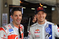 Jamie Whincup and Sébastien Ogier