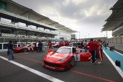 #3 Kessel Racing Ferrari 458 Italia: Michael Broniszewski, Philipp Peter, Daniel Zampieri