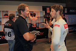 ROC founder Fredrik Johnsson and Romain Grosjean