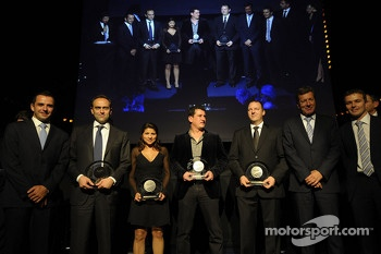 Audi Sport receive their awards
